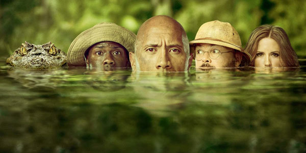 Jumanji: Welcome to the Jungle Blu-ray Review