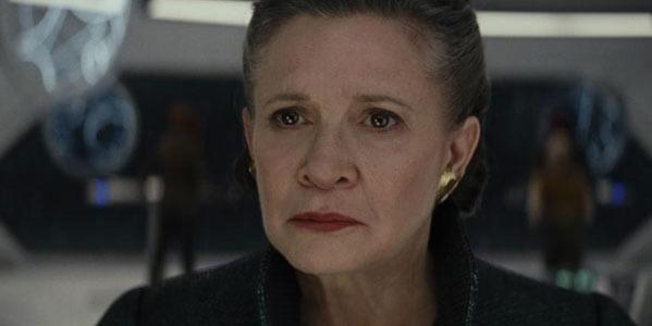 Leia is afraid all is lost