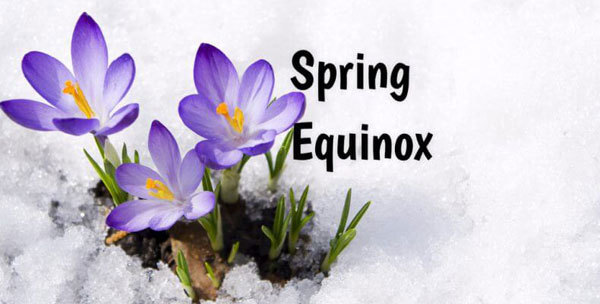 The Spring Equinox is a very mystical time.