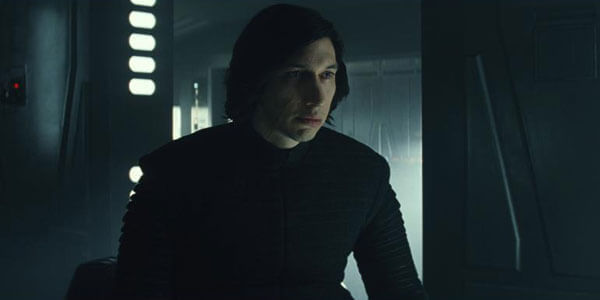 Kylo feels a connection to Rey
