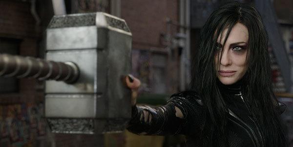 Hela captures Thor's precious hammer!
