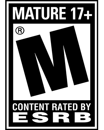 The ESRB's Mature rating.