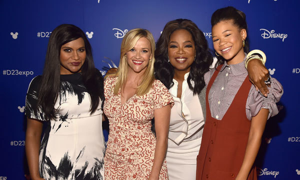 Mindy, Reese, Oprah and Storm at Disney Expo