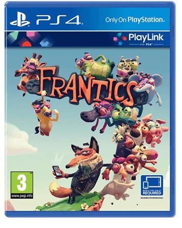 Frantics PS4 Box Art