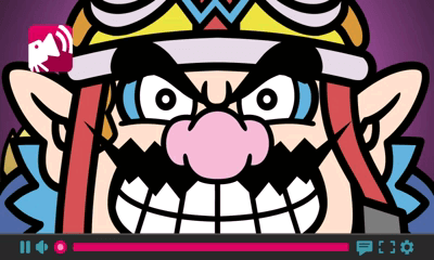 A screen from the 3DS's first WarioWare game.