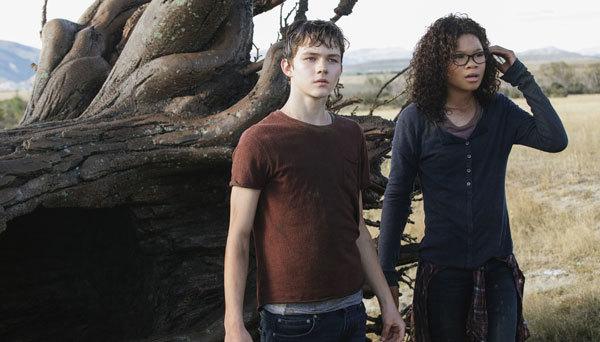 Calvin and Meg survive the tornados on Camazotz