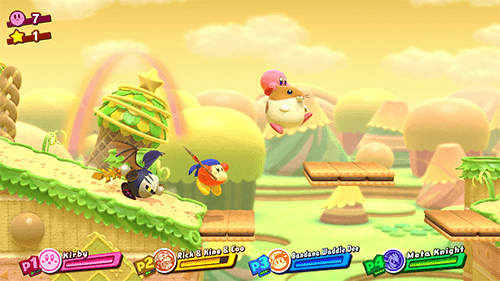 Classic characters can assist Kirby in next week's game.