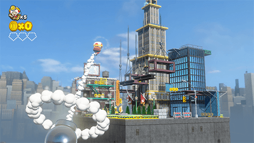 Captain Toad heads off to the Metro Kingdom from Super Mario Odyssey.