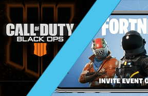 Fortnite Comes to iOS and Black Ops 4 Confirmed