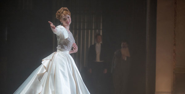 Singer Jenny Lind (Rebecca Ferguson) makes a big impression