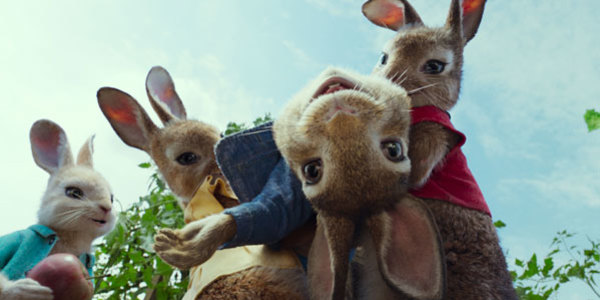 Feature peter rabbit james corden feat