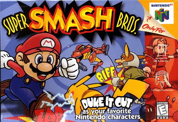 Super Smash Bros Box Art