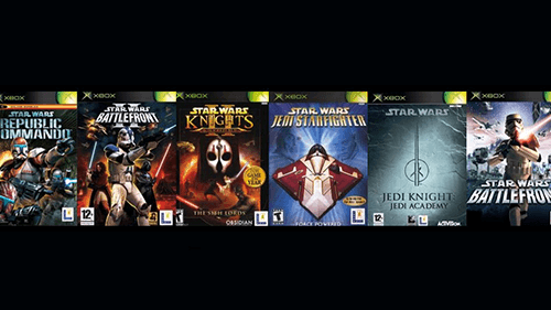 The collection of Star Wars games added to the backwards compatibility lineup.