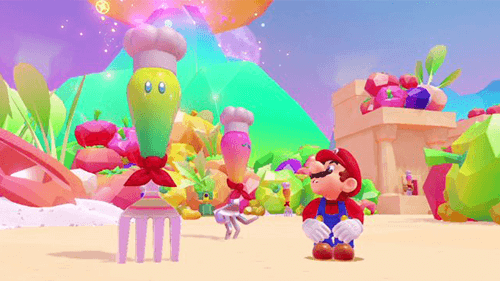 Odyssey's colorful kingdoms keep the game feeling diverse and fresh.