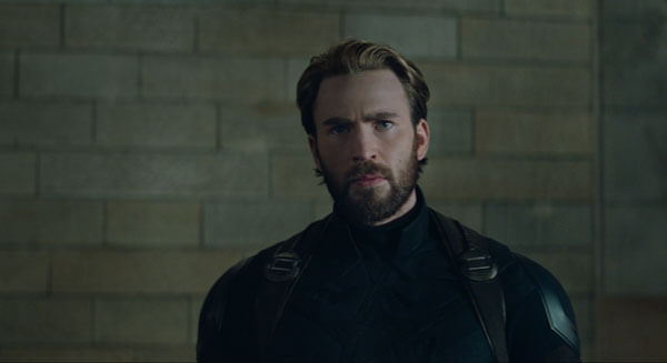 Captain America has a new look