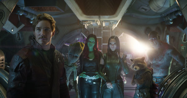 Star Lord and the Guardians