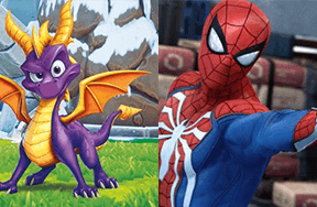 Preview preview spyro spider man