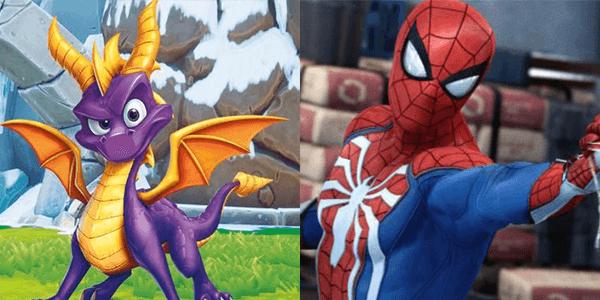 Spider-Man and Spyro Releasing in September