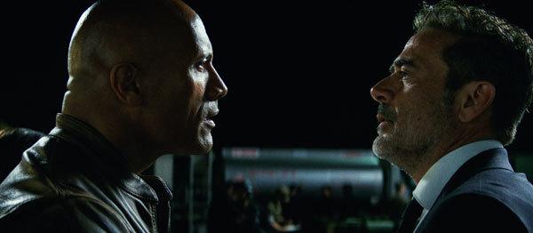 Dwayne goes toe-to-toe with Jeffrey Dean Morgan