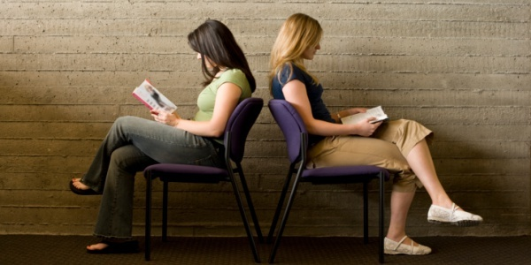 Practice speed reading with a friend