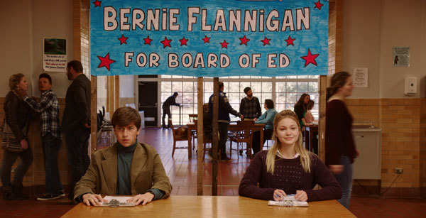 Bernie and Veronica (Olivia) run for office