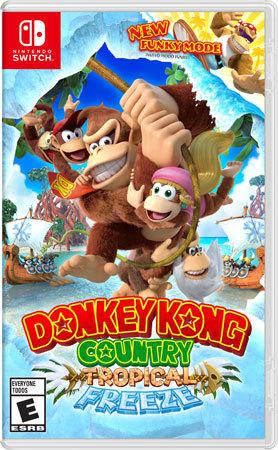 Donkey Kong Country Tropical: Freeze Box Art