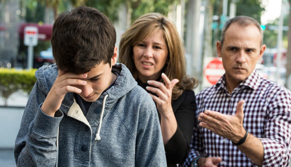 Fighting with our parents can be emotional.