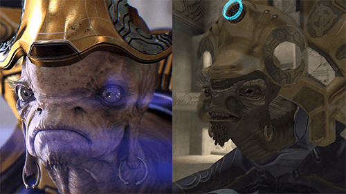 The upgrade to Halo 2's cutscenes raises the quality of the story immensely.