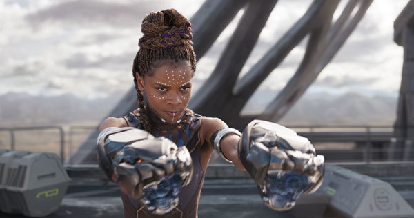 Shuri played by Letitia Wright