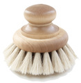 Bath Brush Round Large - Horsehair & Alderwood