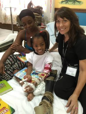 Dominican Republic mission girl broken leg
