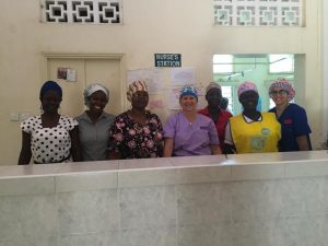 Medical Mission: Kenya team with fun surgical hats