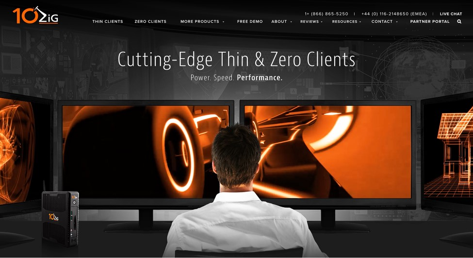10Zig Thin client