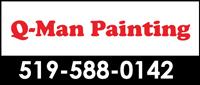 Q-Man Painting