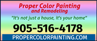 Proper Color Painting & Remodelling