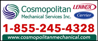 Cosmopolitan Mechanical Services (GTA)