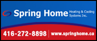 Spring Home Heating and Cooling Systems Inc
