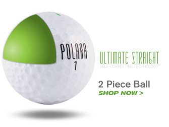 Polara Golf Ultimate Straight Golf Ball