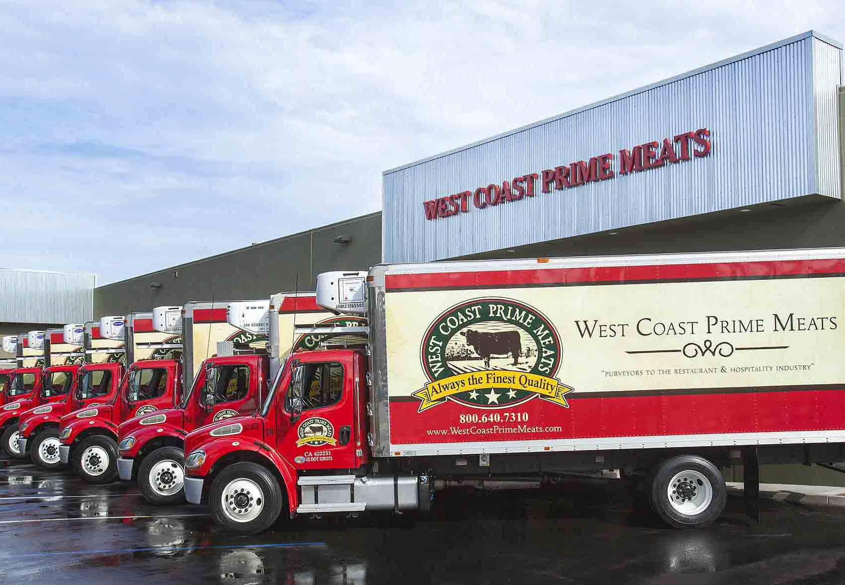 Meat Company Southern California Delivery Fleet