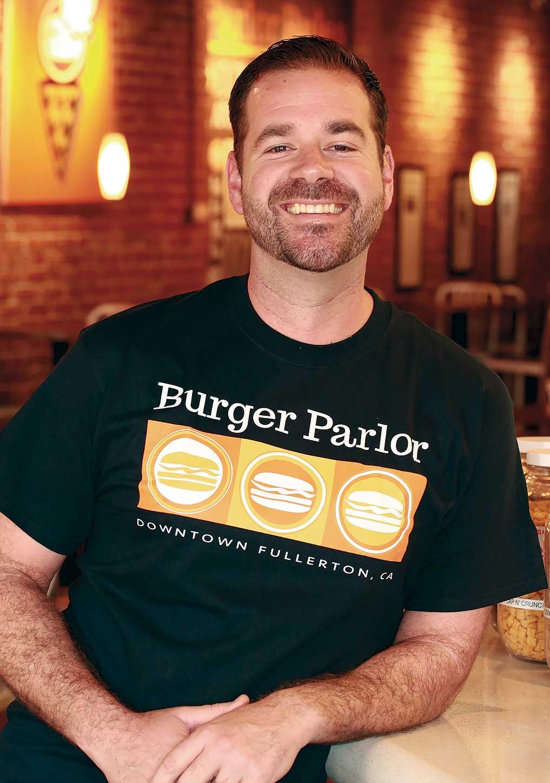 Burger Parlor Joseph Mahon