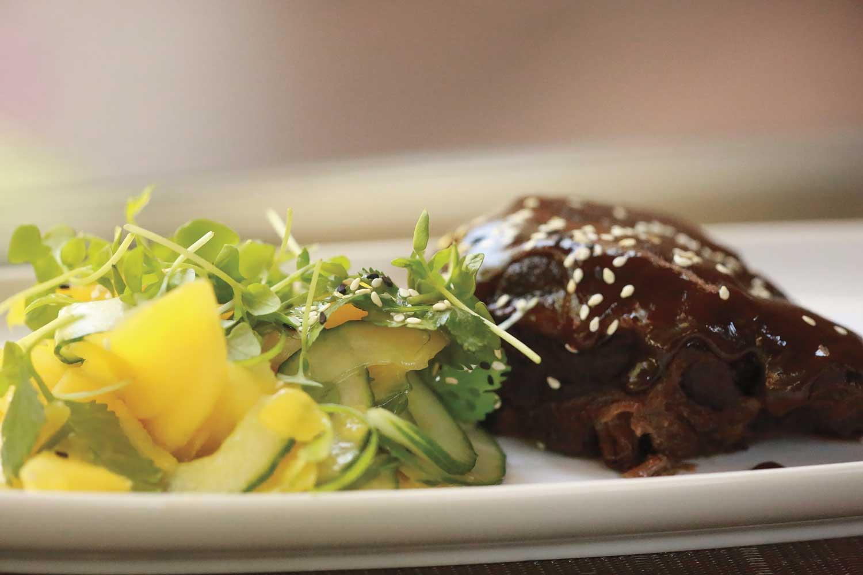 Soy-Braised Beef Cheeks