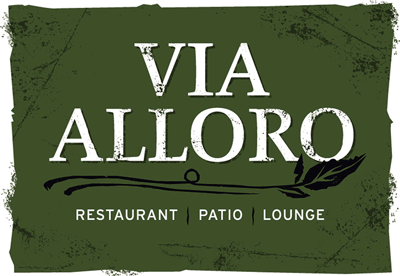 Via Alloro Logo