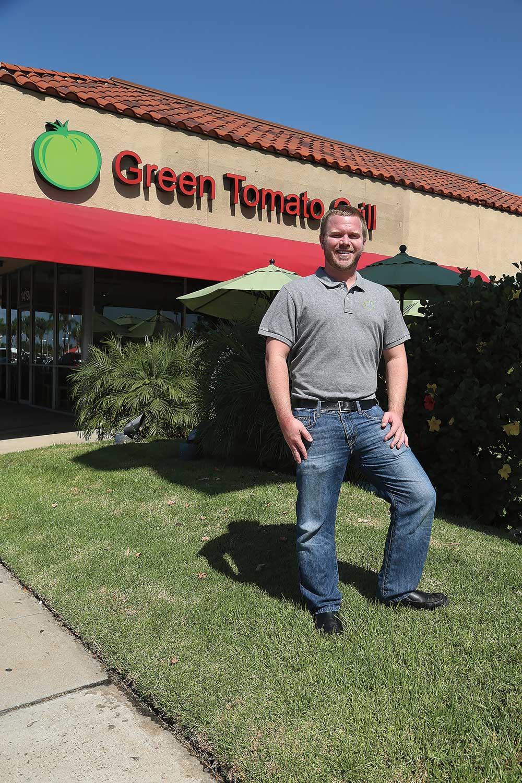 Green Tomato Grill Executive Chef Kyle Markt