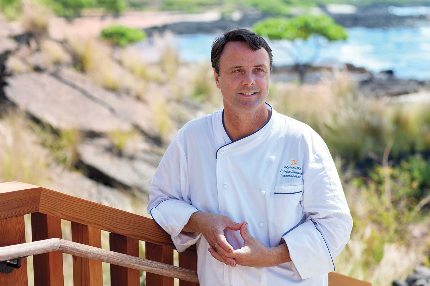 Kohanaiki Executive Chef Patrick Heymann