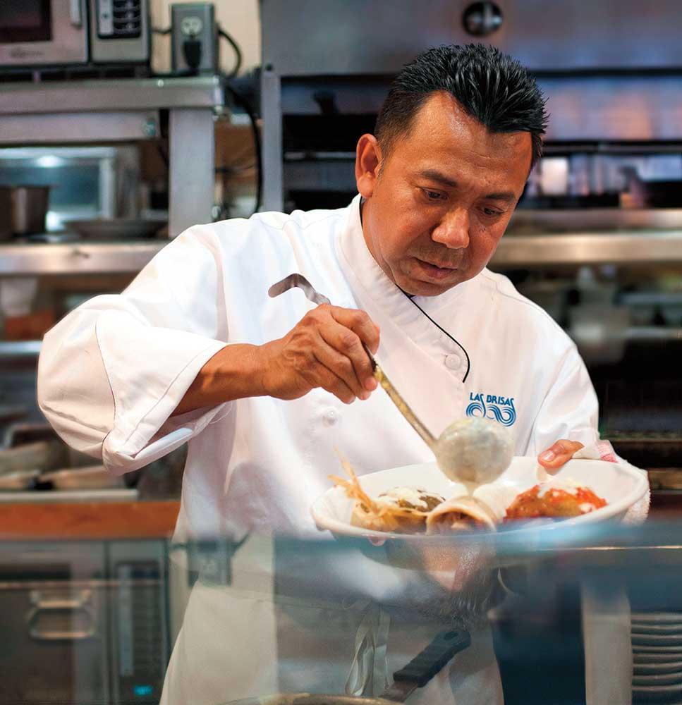 Las Brisas Chef Enrique Tayun