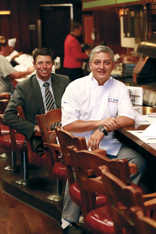 Musso & Frank Mark Echeverria & Chef JP Amateau