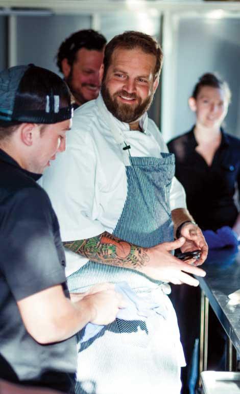 Chef Travis Flood