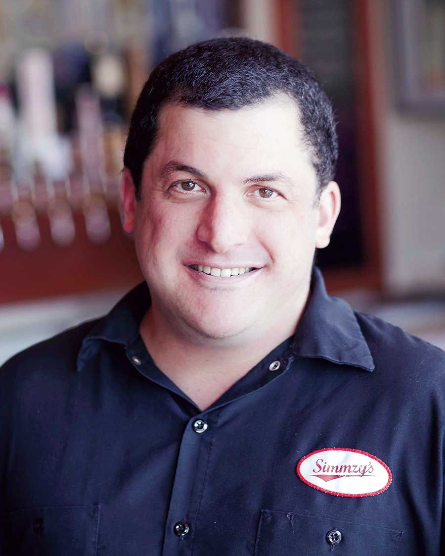 Simmzy's Chef Mike Rubino
