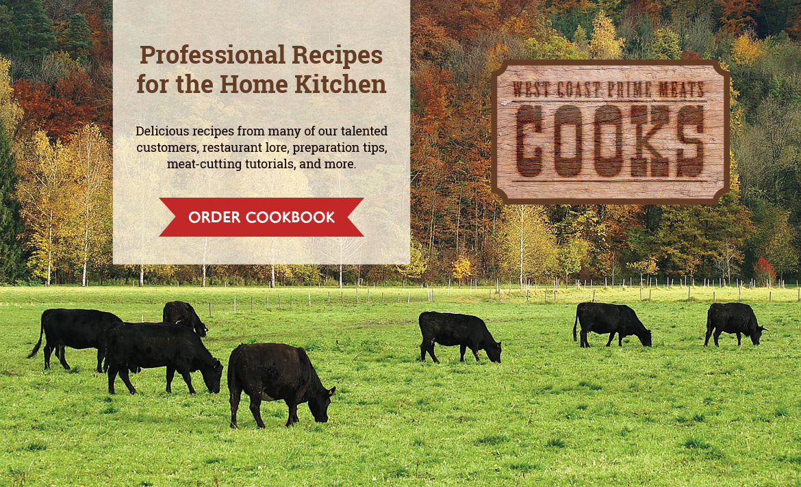 West Coast Prime Meat Cooks Cookbook