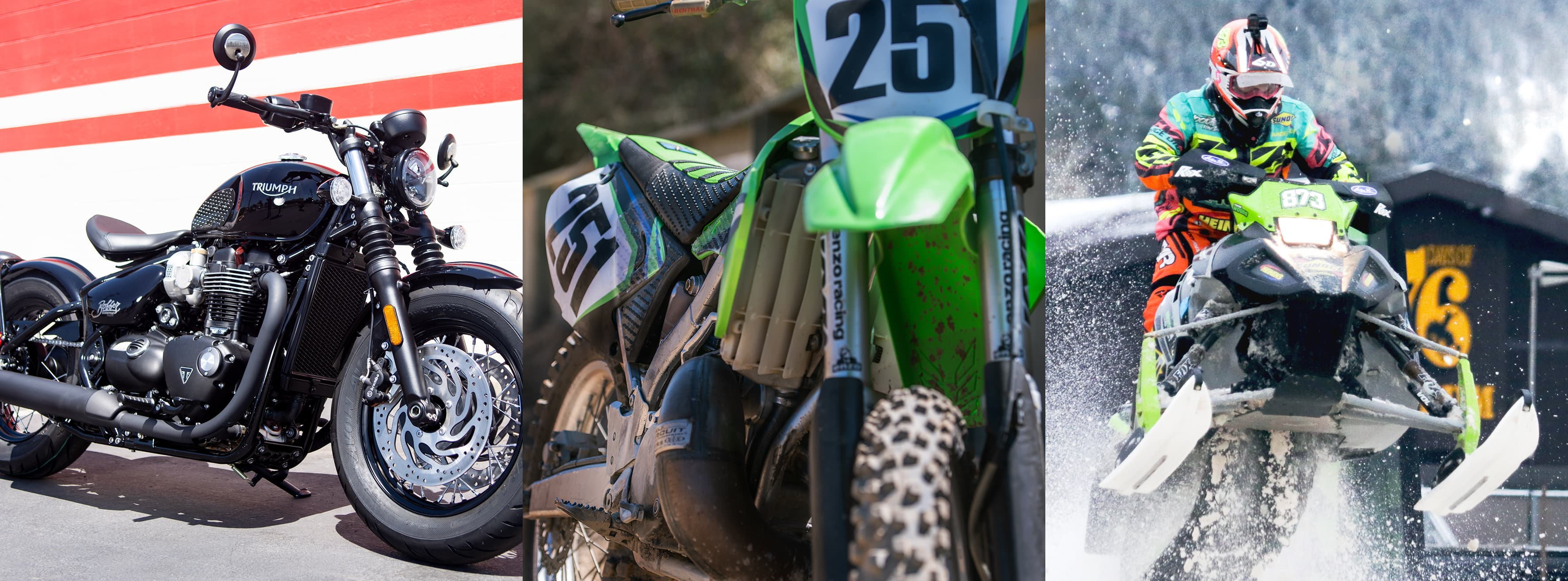STOMPGRIP Tank Grips work for Street, Dirt, and Snow